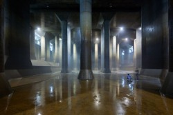 Photo: Iwan Baan. Subterranean  Cistern (G-Cans Project).