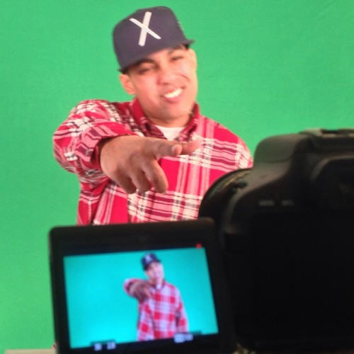 Shooting @jasiri_x #letsgojasriri #entertheblackness #twibnation (at BcCo Studios)