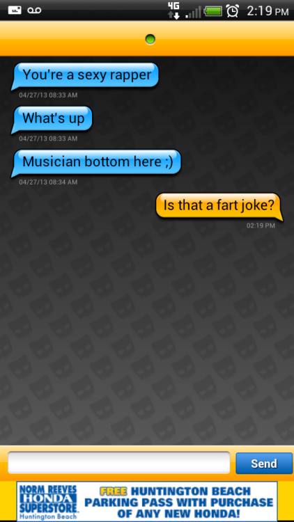 #gay #grindr #fart #joke