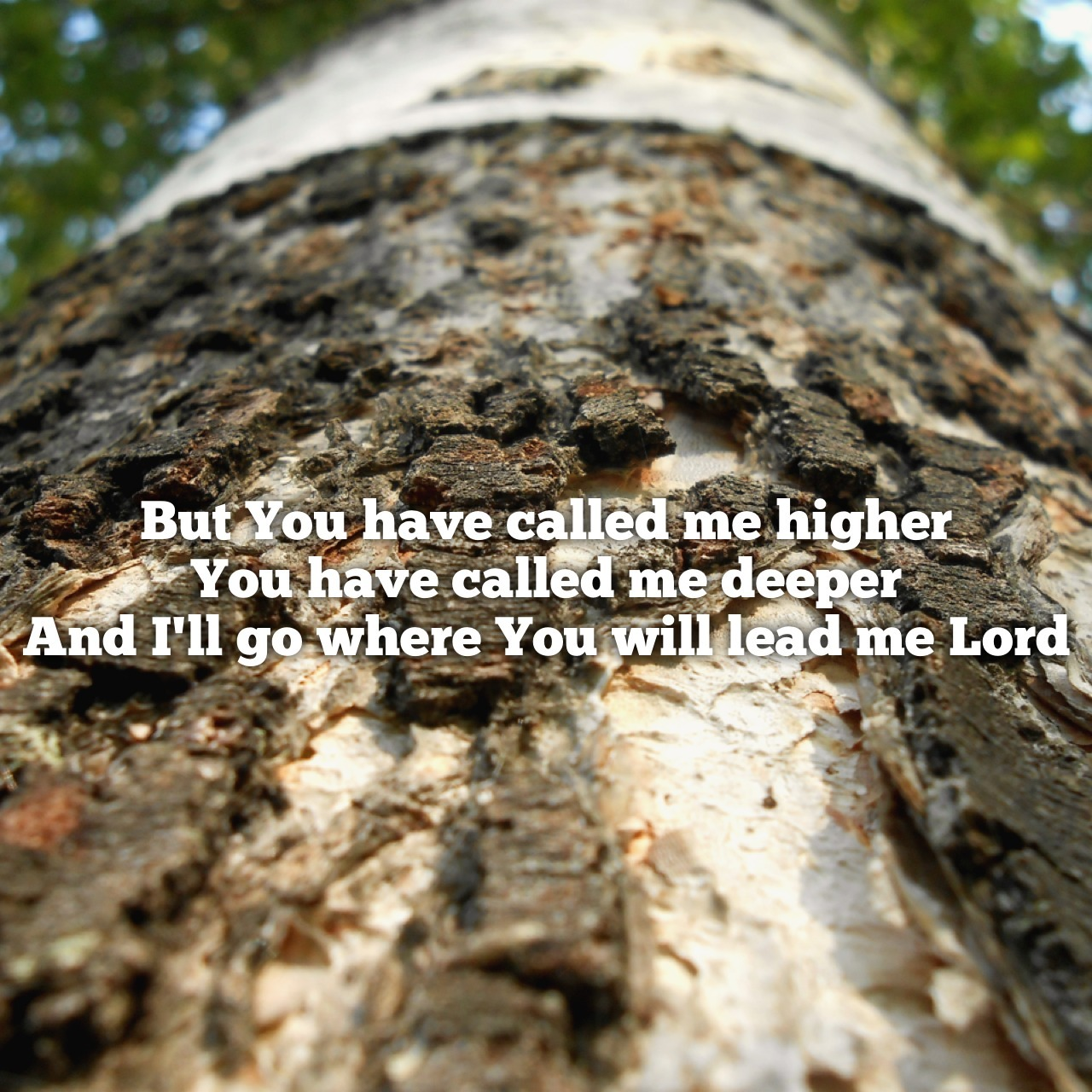 """If you have not heard """"Called Me Higher"""" by All Sons & Daughters, I recommend that you do. It's a very beautiful worship song that makes me smile every time!"""