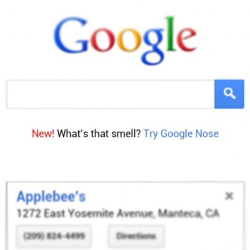 How many of you are smelling you're phone screen #googlenose #google #aprilfools #yousmellthat #transmittingscent #smellovision #haha #smell #igdaily #ighub #webstagram #statigram