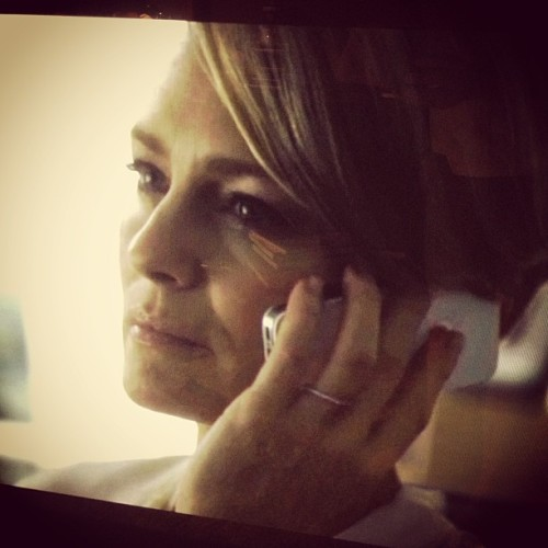 Living for Robin Wright on 'House of Cards'/Sydney, Feb 17
