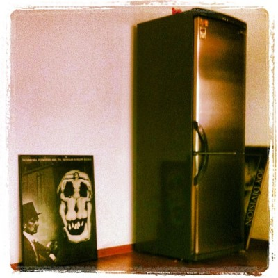 Traces…#dalí #fridge #joydivision / on Instagram http://bit.ly/126wat1
