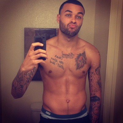 donbenjamin:  Been in the Gym heavy.. It's startin to pay off!