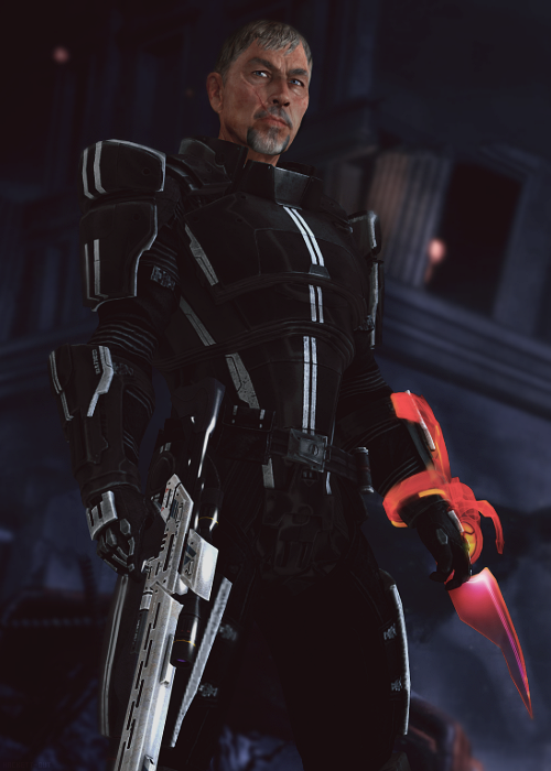 """Think you could use another pair of hands, Shepard?"""