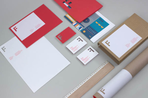 Fieldwork Identity. This is the stunning in-house brand identity of the young graphic design studio Fieldwork. The creative studio was founded in 2012 by Loz Ives and Andy Gott. More graphic design inspiration on WE AND THE COLORWATC//Facebook//Twitter//Google+//Pinterest