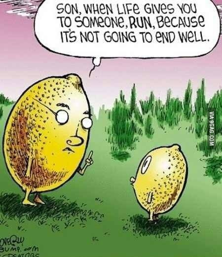 Lemons on life