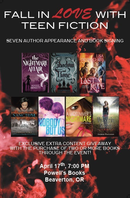 kodykeplinger:  newleafliterary:  A huge New Leaf Literary author event in Beaverton, Oregon!  I will be here! You should come here, too!