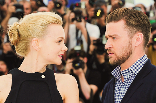 ohne-dich:  Carey Mulligan and Justin Timberlake attend the photocall for 'Inside Llewyn Davis' during the 66th Annual Cannes Film Festival (May 19, 2013)