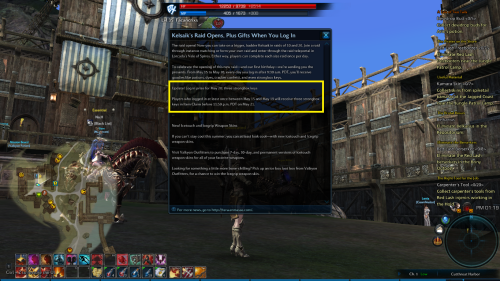 TERA Rising:  Daily Log in Prize Awesome.  =D