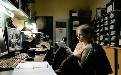 camera-tape:  Zero Dark Thirty (2012)Director: Kathryn BigelowStars: Jessica Chastain, Jason Clarke