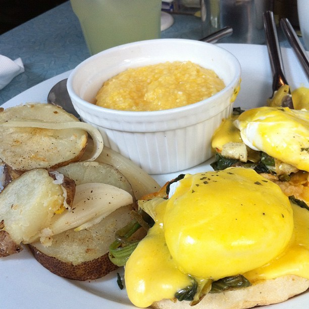 Morning #HongKong! #eggs #benedict from #flyingpan. #instafood