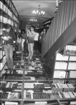 "Book Floor -  The Zhongshuge Bookshop, ""dubbed the most beautiful bookshop in Shanghai"",    Story: Books with Bling / China Daily"