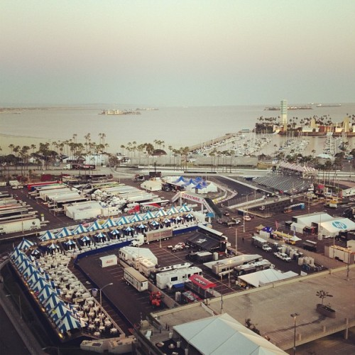 Grand Prix in my back yard. #toyota #grandprix #LongBeach #California