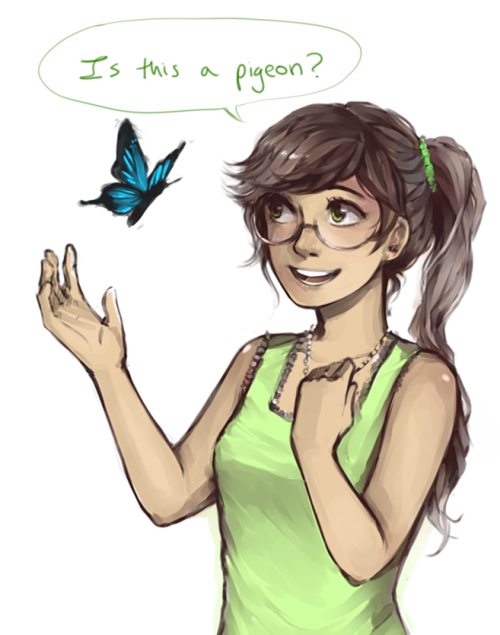 rebornica:  cheese3d:  AU where jade's never seen a butterfly because her grandpa blew up every single fucking one he saw   This is my all time favourite Homestuck headcanon oh my god