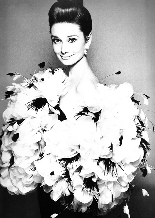 "becketts:  Audrey Hepburn, dress by Yves Saint Laurent, Paris, July 1962. Photographed by Richard Avedon.  ""I am, and forever will be, devestated by the gift of Audrey Hepburn before my camera. I cannot lift her to greater heights. She is already there. I can only record. I cannot interpret her. There is no going further than who she is. She has achieved in herself the ultimate portrait."""
