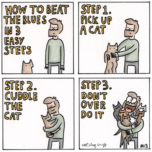 catsbeaversandducks:  Comic by ©eat sleep sniff   My Life! Or at least it was!