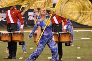 fly-swift-fallcon:  DCI 2012 Color Guard Appreciation Part 3