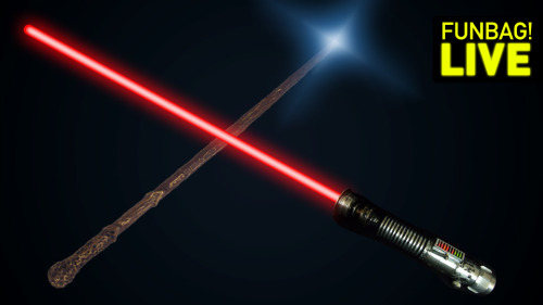 Light Saber Vs. Magic Wand: WHO YA GOT?!  Probably the best thing Deadspin has ever written.