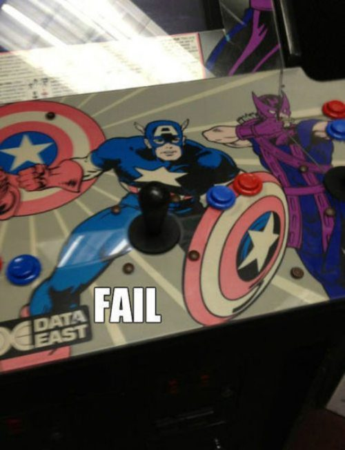 Captain America always loved it when people played with his character.