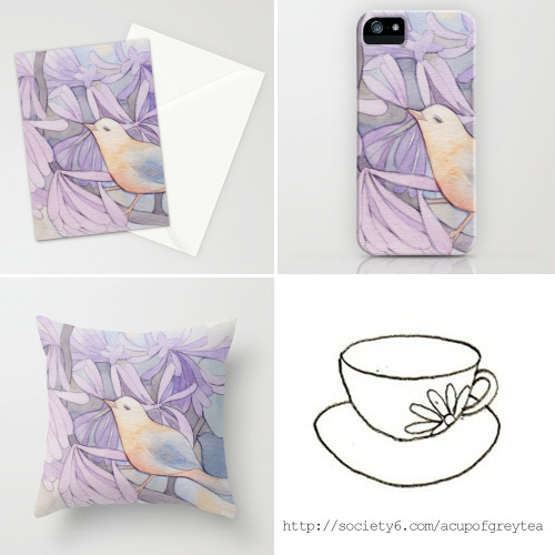 My Affable Bird in Society6