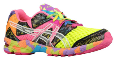 Why be boring when you could go bold? The Asics Gel Noosa Tri 8 at Foot Locker is begging to be part of your summer fitness routine.