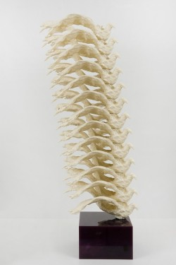 bacarat:   I'm using Totem as a metaphor for the spine. For me, the spine is emblematic of the essentially universal quality of the materiality of our existence. The common fact that we have bodies transcends race, religion and creed. I began focusing on the spine as an image and idea after I suffered what I thought were physical injuries in that area. Actually they were emotional injuries that just manifest themselves physically. We hold these emotional tensions and personal histories in our physical bodies – which means the relationship between the physical and emotional is often more complex and metaphorical than we might think.  Lucy Liu, Another (x)  Are you actually perfect.
