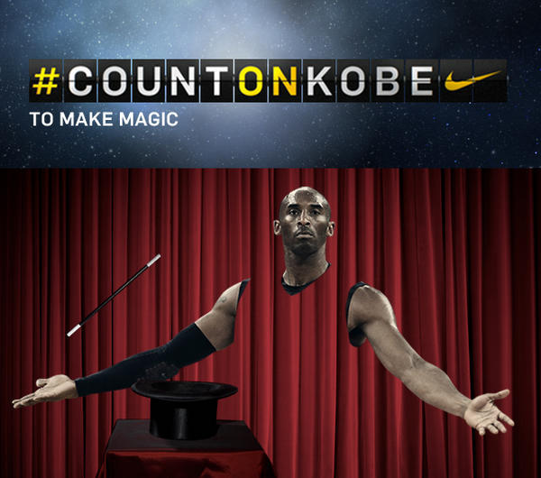 Kobe Bryant - Hope you enjoyed the show. #COUNTONKOBE @KobeBryant