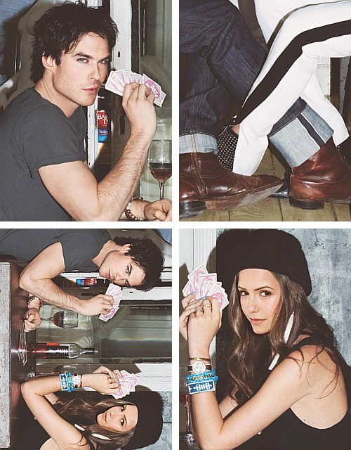 Ian x Nina  - [Glamour Magazine (USA) April Manip]