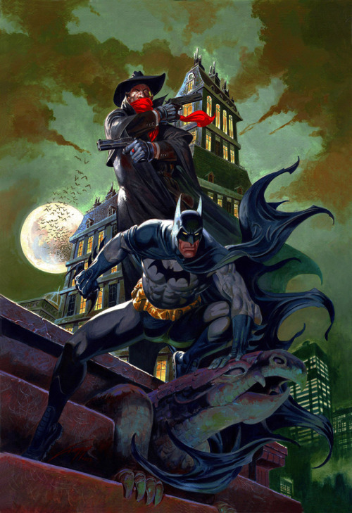 Batman and Shadow by Rafael Gallur