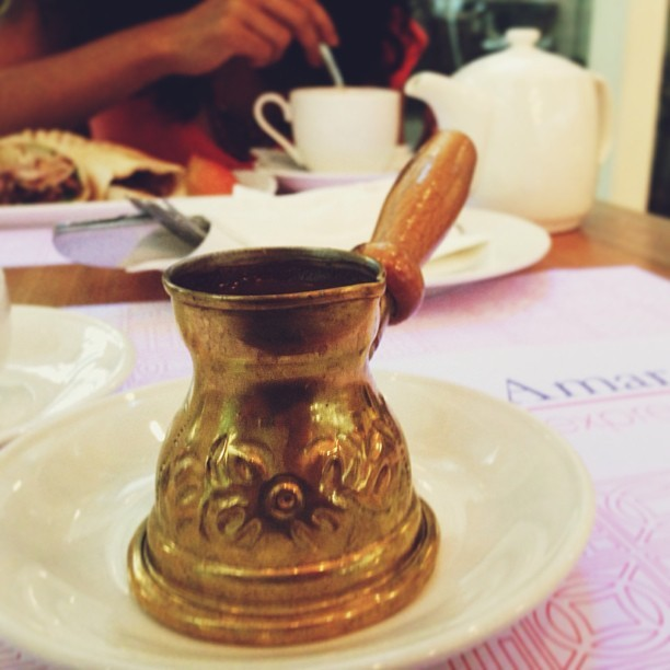 Lebanese Coffee  (at Al-Amar Express)