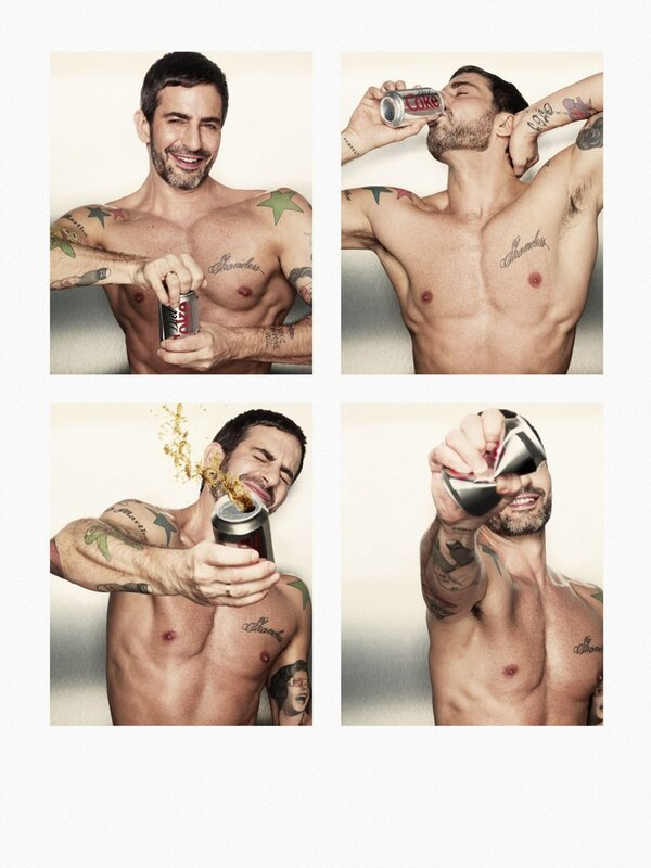 Marc Jacobs - Excited to announce that @marcjacobs is Creative Director for Coca Cola Light 2013! #D