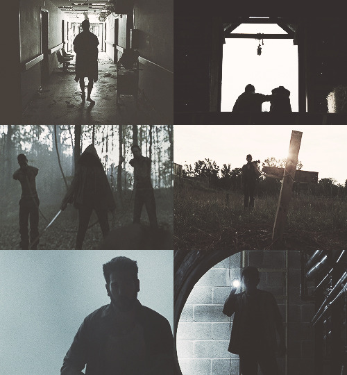 Screencap Meme↳ The Walking Dead | Silhouettes