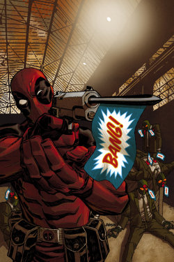 poderfriki:  Deadpool by Devilpig