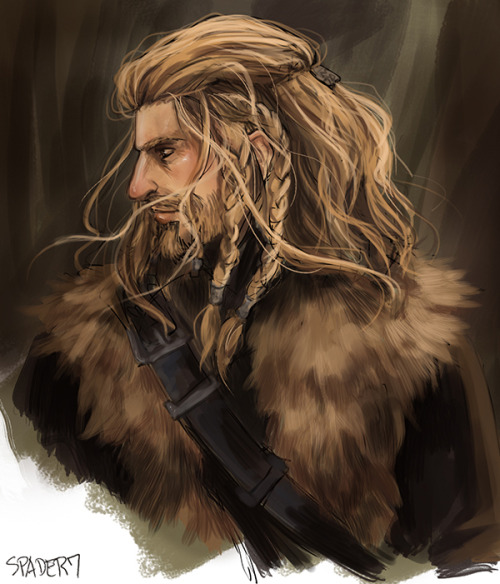 spader7:  one of my favorite things is how fili's hair just gets more and more unkempt until it's just a hot mess that i want to bury my face in