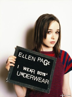 kingdavefromspace:  I would marry Ellen Page in a heartbeat.