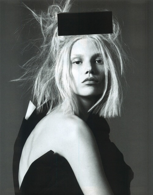 midnight-charm:  Suvi Koponen by Mert & Marcus for Vogue Paris March 2013