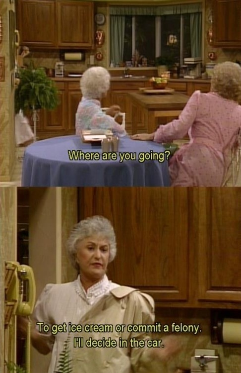 allegedlyofcourse:  Golden Girls >