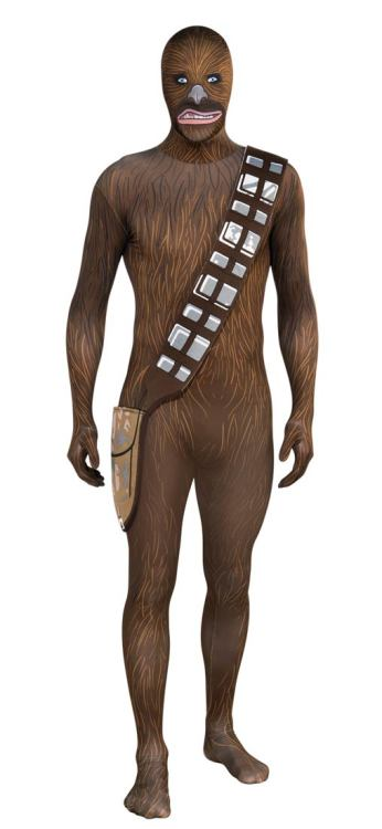 You too, can dress as Chewbacca this Halloween!