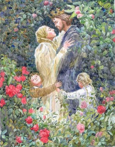 Romance is one of the sacred temples that dot the landscape of life - Marianne Williamson #Marianne Williamson#romance#love#wedding#marriage#sacred #man and woman #temples#landscape#life#roses#child#family#nuclear family#happiness#true romance