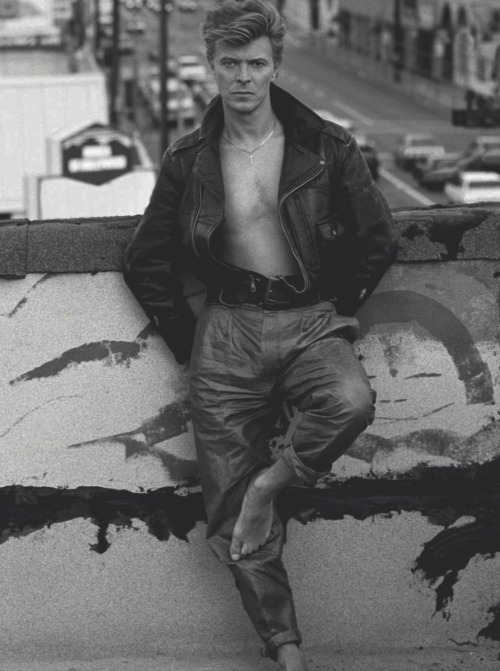 David Bowie by Herb Ritts in Los Angeles, 1987