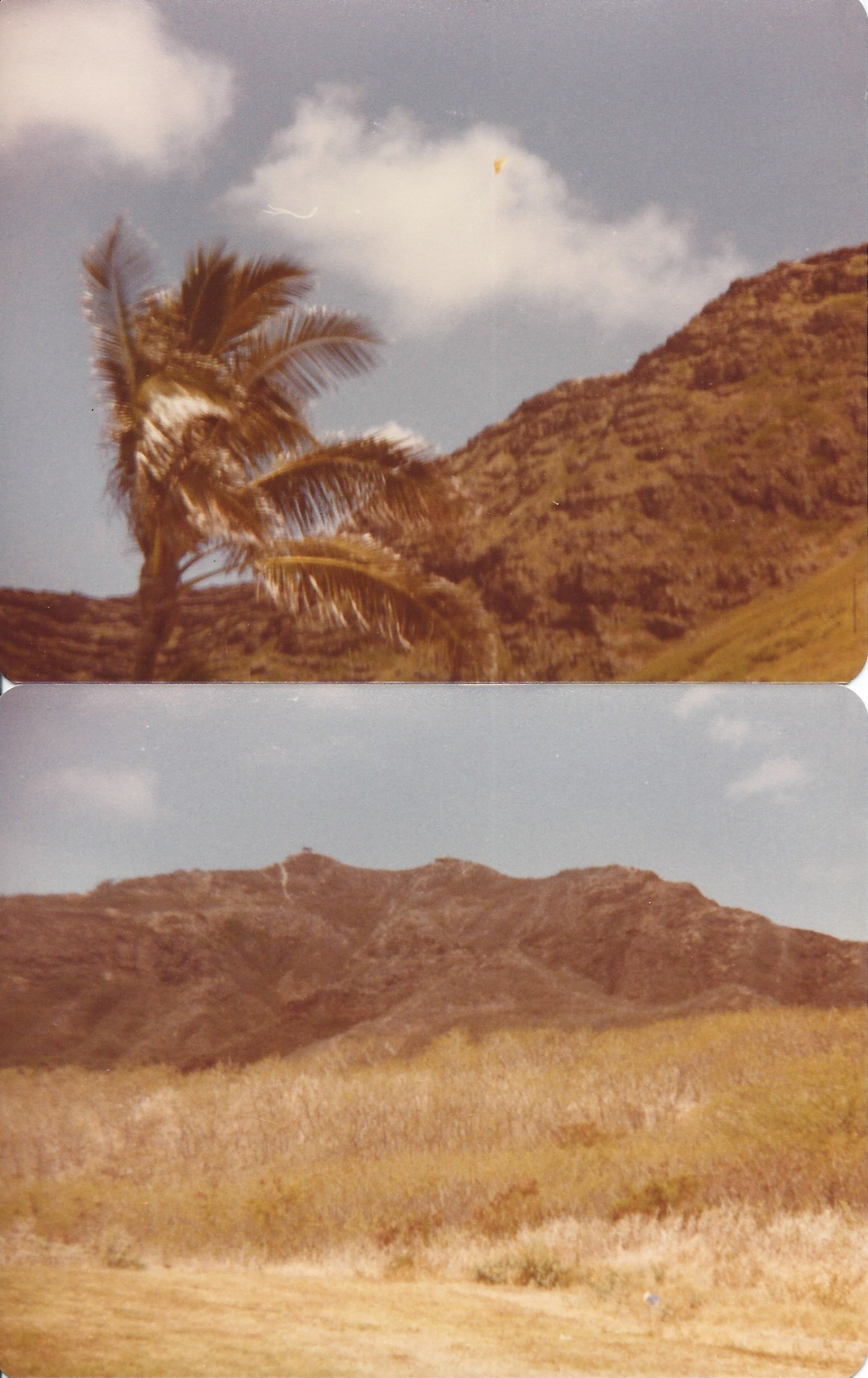 these are pictures my mom took in hawaii in 1979 i am in between finishing up rolls so i thought i'd post some since i just came across them.