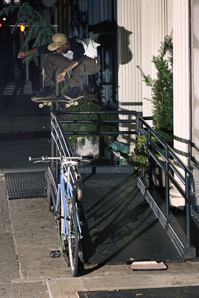 Justin Clady - Backside 180 in Manhattan, NY