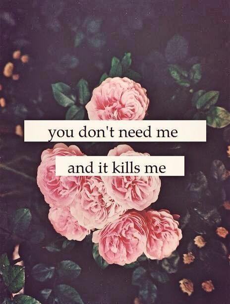 justbreatheandliveyourlife:  you don't need me na We Heart It http://weheartit.com/entry/56498065/via/itzmebitches