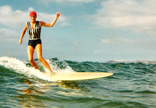 Britain's Oldest Female Surfer - Gwynedd Haslock - now 68 - to be featured in new doc…