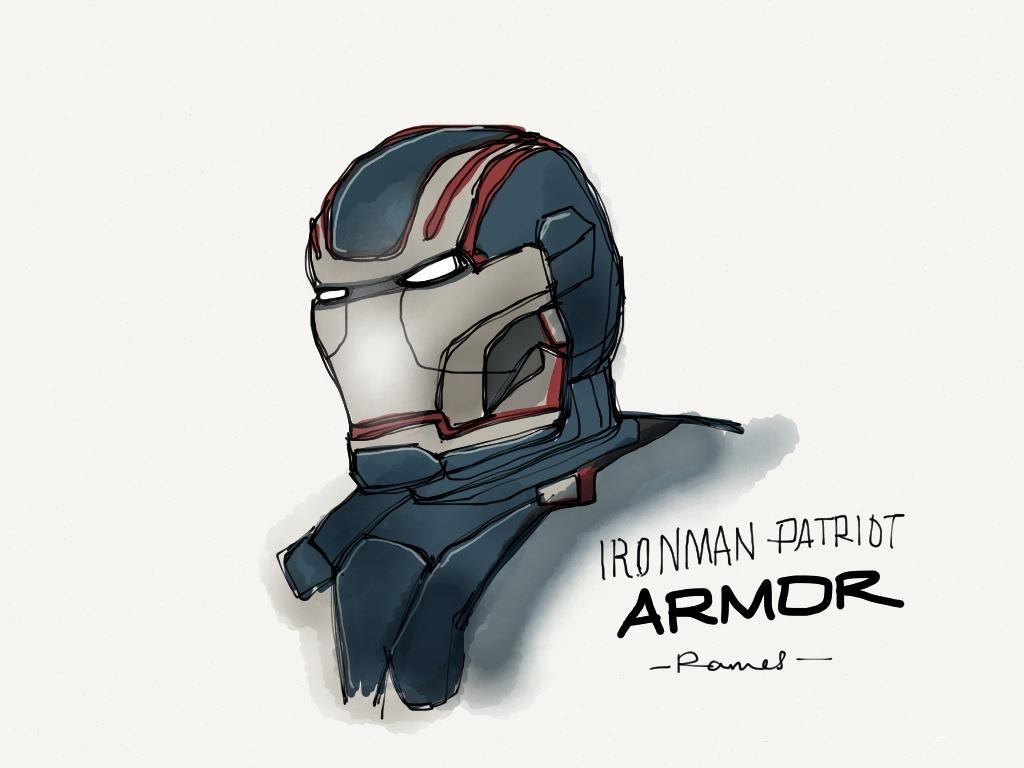 Iron Man Patriot Armor
