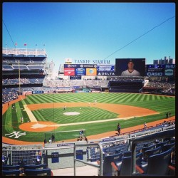 Yankee Stadium today 😘👏 #baseball #yankees #stadium #yankeestadium #sports