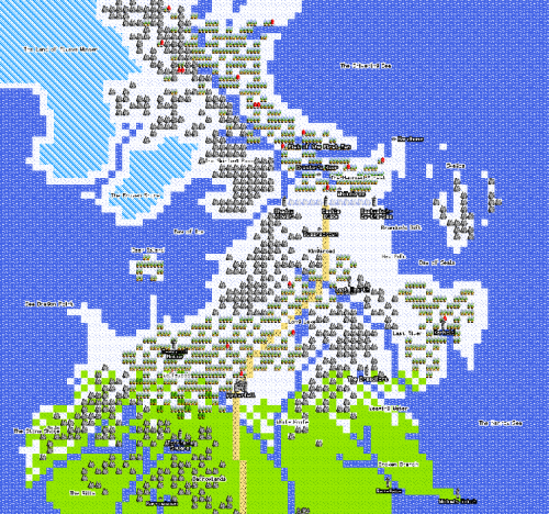 The 8-Bit Game of Thrones Experience [Click to start playing] Recreate the opening theme of Game of Thrones in 8-bit style by playing the video here and scrolling through the map using your arrow keys or mouse. Start playing now.