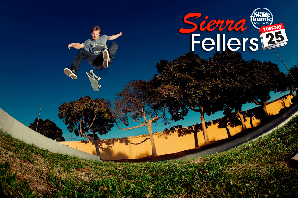 http://www.skateboardermag.com/features/the-tuesday-25-with-sierra-fellers/  head on over and check out Sierra's tuesday 25 over at the skateboarder site.