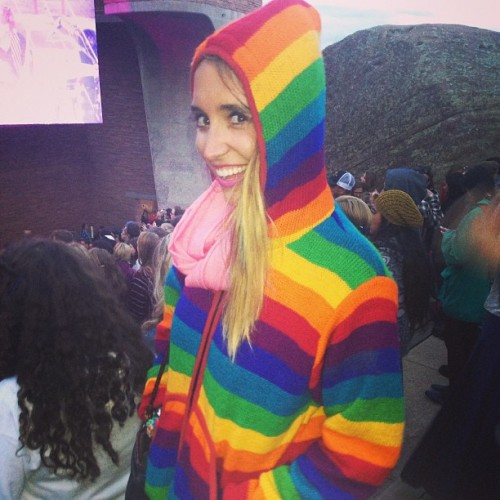 hoodz upppp people #freezing 🌈🌈🌈👍 #rainbowchild  (at Red Rocks Park & Amphitheatre)